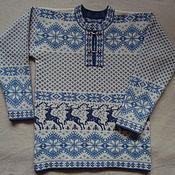 """Одежда ручной работы. Ярмарка Мастеров - ручная работа Джемпер """"Нордик"""". Handmade."""