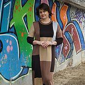 Платья ручной работы. Ярмарка Мастеров - ручная работа Платье Поздняя осень. Handmade.