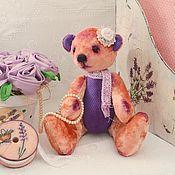 Куклы и игрушки ручной работы. Ярмарка Мастеров - ручная работа Плюшевый медведь с ароматом лаванды. Handmade.