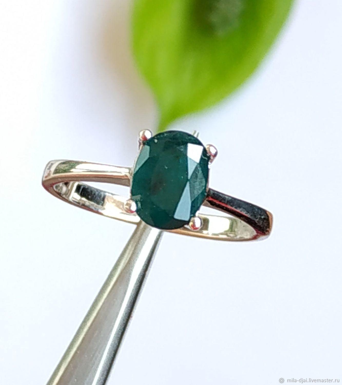 Кольцо серебряное с грандидьеритом