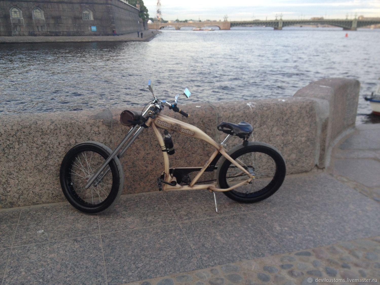 Как сделать чоппер из велосипеда фото 138