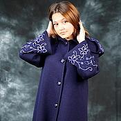"""Одежда ручной работы. Ярмарка Мастеров - ручная работа Вязаное пальто""""Королевская накидка"""". Handmade."""