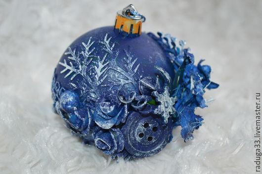 Подарки на Пасху ручной работы. Ярмарка Мастеров - ручная работа. Купить Шар на елку. Handmade. Шар новогодний, украшение на елку