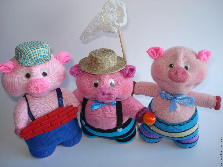Игрушка свинка Пеппа своими 60
