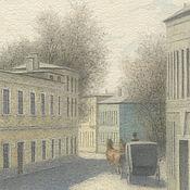 Картины и панно handmade. Livemaster - original item Poster to buy in the online store Trubnikovsky lane. Handmade.