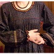 Одежда ручной работы. Ярмарка Мастеров - ручная работа Платье февральское. Handmade.