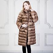 Одежда handmade. Livemaster - original item Fur coat marten. Handmade.