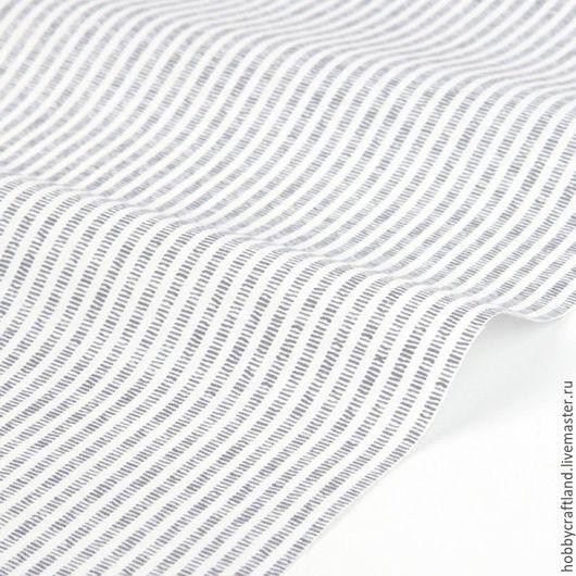 Материалы для творчества. Шитье. Ткань. Хлопок 100% корейский Dailylike. Хлопок для шитья, пэчворка, скрапбукинга, рукоделия. Handmade Купить корейский хлопок. Морской стиль Ткань в полоску Серый