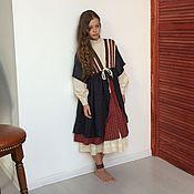 """Работы для детей, ручной работы. Ярмарка Мастеров - ручная работа Комплект из двух платьев """"Полина"""". Handmade."""