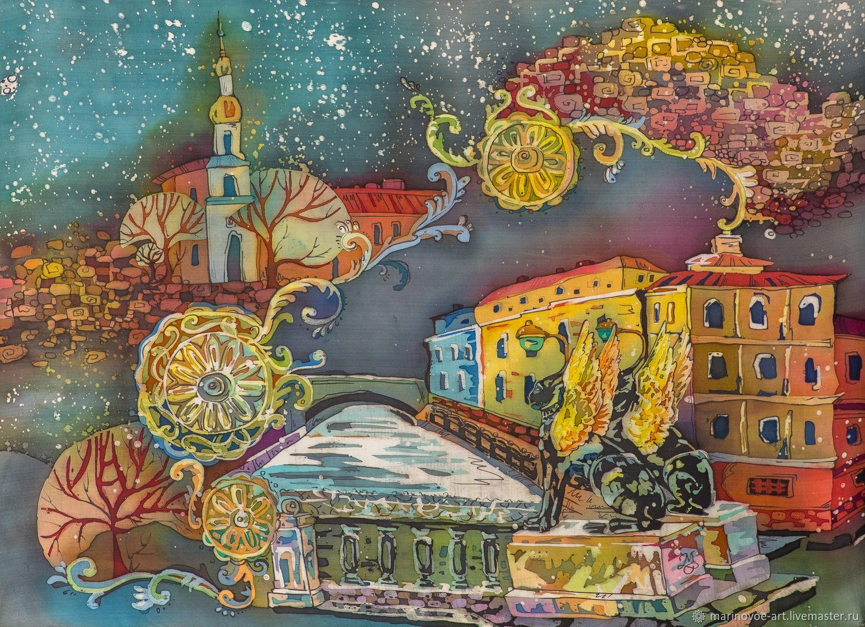 День, картинки художников батика из с-петербурга