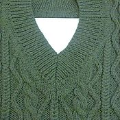 Одежда ручной работы. Ярмарка Мастеров - ручная работа Мужской пуловер. Handmade.