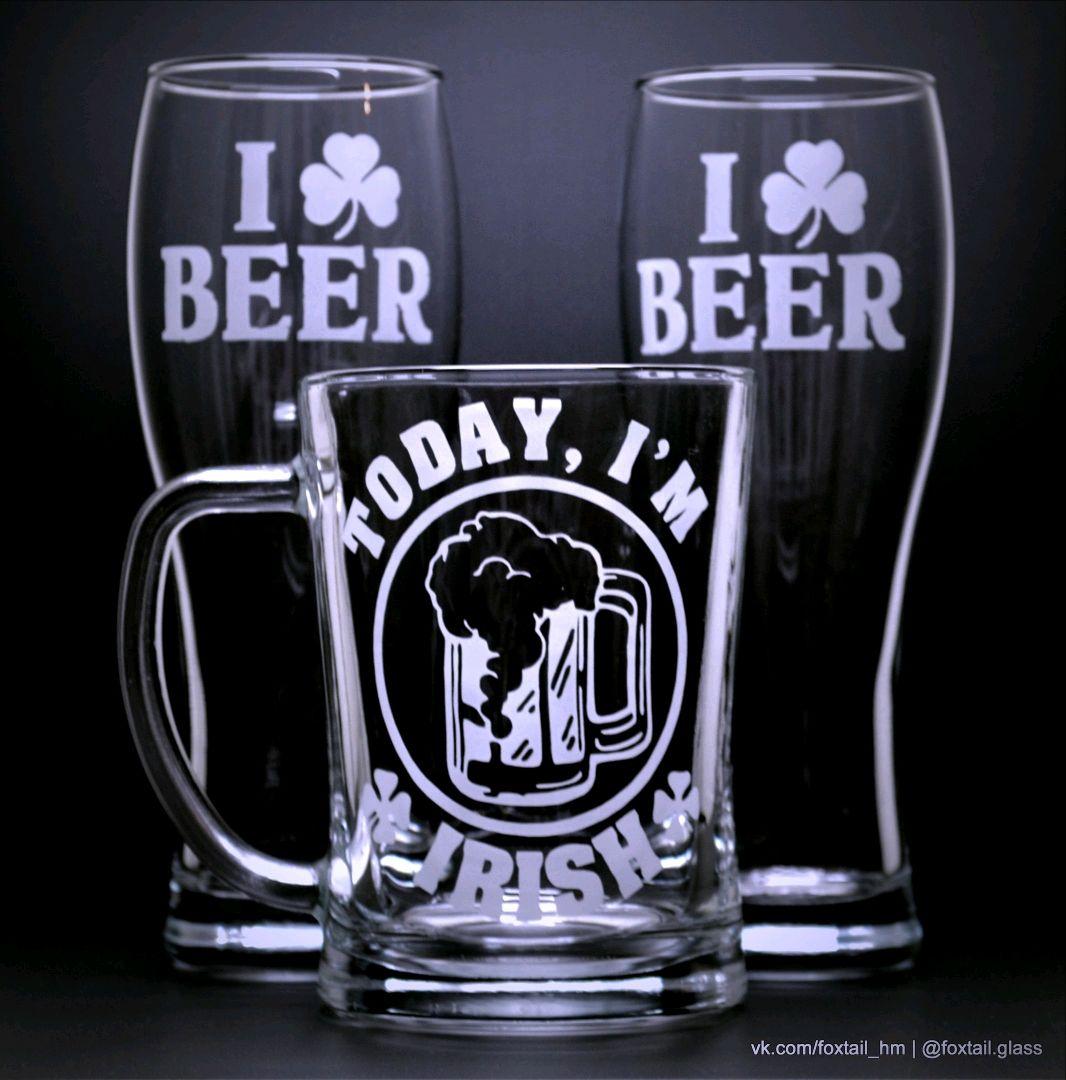 Кружка для пива Today i'm irish, Кружки, Краснодар,  Фото №1