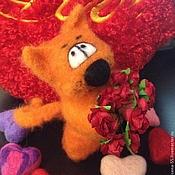 Куклы и игрушки ручной работы. Ярмарка Мастеров - ручная работа Романтичный КОт Апельсин. Handmade.