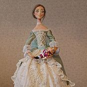 Куклы и игрушки ручной работы. Ярмарка Мастеров - ручная работа Мари и её Щелкунчик. Handmade.