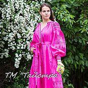 Одежда ручной работы. Ярмарка Мастеров - ручная работа Платье вышитое, бохо, этно стиль, Bohemia,вышиванка. Handmade.