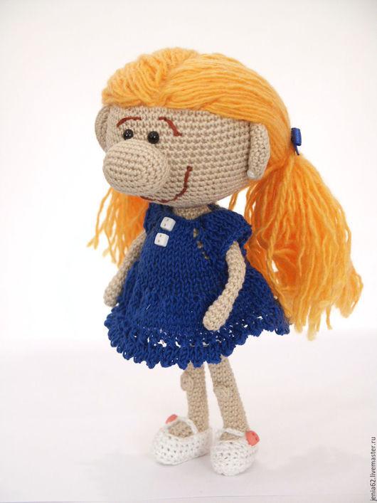 Человечки ручной работы. Ярмарка Мастеров - ручная работа. Купить Куколка с большим носом. Handmade. Разноцветный, подарок на день рождения