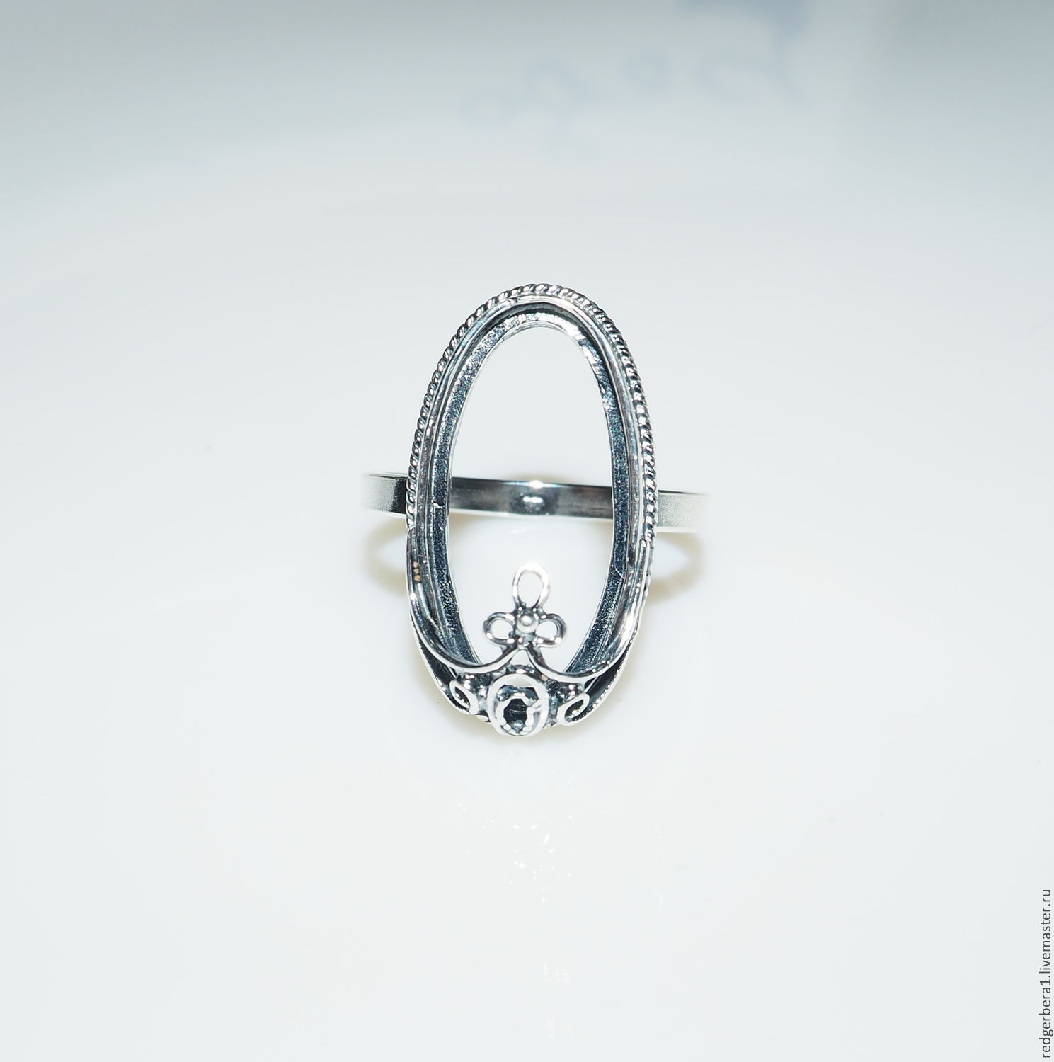 """Buy The basis for the ring """"Eleanor"""" 21 2х10 5 silver 925 on"""
