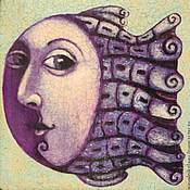"""Картины и панно ручной работы. Ярмарка Мастеров - ручная работа """"Рыба"""",  авторская печать.. Handmade."""