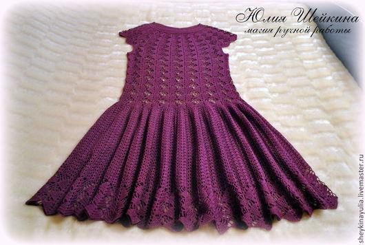 """Платья ручной работы. Ярмарка Мастеров - ручная работа. Купить Платье крючком  """"Кайли"""". Handmade. Платье летнее, нарядное платье"""