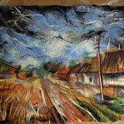 """Картины и панно ручной работы. Ярмарка Мастеров - ручная работа Картина """"По мотивам..."""". Handmade."""