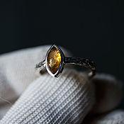 Украшения handmade. Livemaster - original item Ring Honey petal. Handmade.