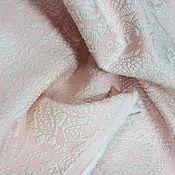 Материалы для творчества ручной работы. Ярмарка Мастеров - ручная работа - 25% от цены ! Ткань жаккард хлопковый пастель. Handmade.