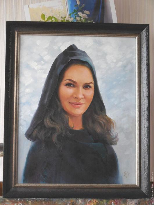 Люди, ручной работы. Ярмарка Мастеров - ручная работа. Купить Портрет восточной женщины, портрет на заказ. Handmade. Черный, восточный