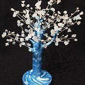 Фен-шуй и эзотерика ручной работы. Ярмарка Мастеров - ручная работа Голубое Кварцевое дерево ваш Оберег и Талисман. Handmade.