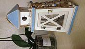 Для дома и интерьера ручной работы. Ярмарка Мастеров - ручная работа подсвечник маяк домик. Handmade.