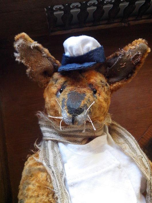 Мишки Тедди ручной работы. Ярмарка Мастеров - ручная работа. Купить ОСТАП. Лис Тедди. Handmade. Лис, коллекционные игрушки