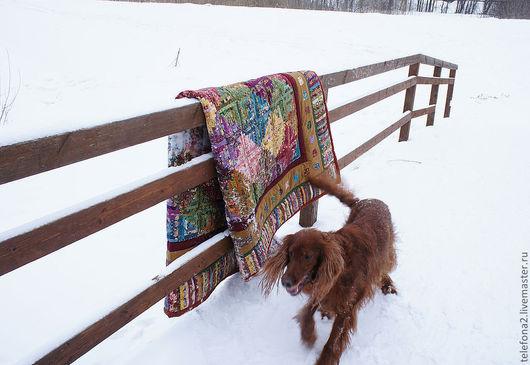 Текстиль, ковры ручной работы. Ярмарка Мастеров - ручная работа. Купить Лоскутное Одеяло покрывало Ромбы (4). Handmade.