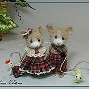 Куклы и игрушки ручной работы. Ярмарка Мастеров - ручная работа Мышата. Handmade.