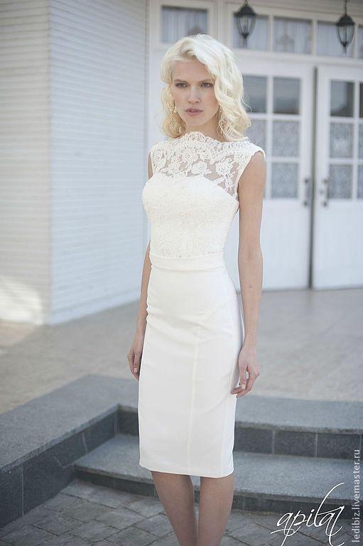 Apilat wedding dresses Одежда и аксессуары ручной работы. Свадебное платье  трансформер L-7. dfe89626ecc