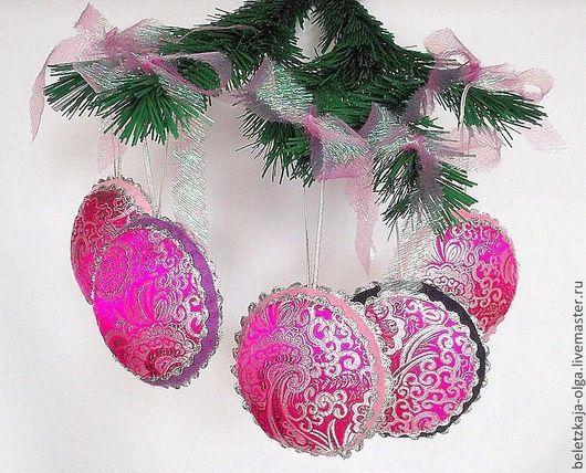 новогодние игрушки на елку новогодние украшения елочные шары новогодний интерьер декор на елку елочные игрушки handmade елочные шары ручная работа новогодний сувенир праздничное украшение на Новый год