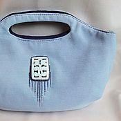 Сумки и аксессуары handmade. Livemaster - original item Bag SIMPLE CHIC mother of pearl, beads, cotton.. Handmade.