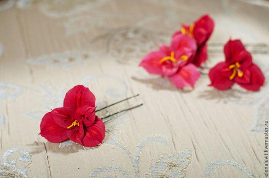 Цветы в прическу от Terracotta by Elena Levit.