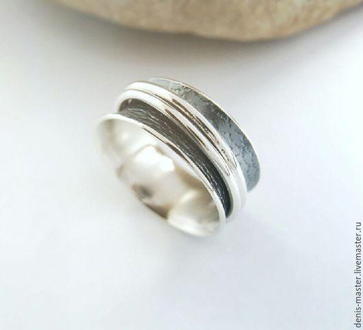 """Кольца ручной работы. Ярмарка Мастеров - ручная работа. Купить серебряное кольцо""""Селена"""" (серебро 925). Handmade. Серый, украшения из серебра"""