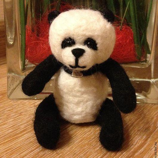 Игрушки животные, ручной работы. Ярмарка Мастеров - ручная работа. Купить Панда. Handmade. Чёрно-белый, панда, медвежонок