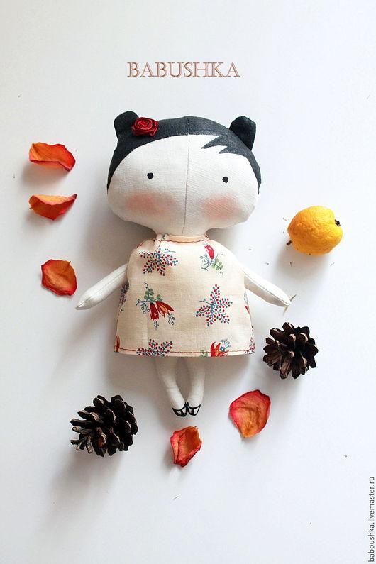 Куклы Тильды ручной работы. Ярмарка Мастеров - ручная работа. Купить Малышка Милли (Tilda Sweetheart doll). Handmade. бежевый