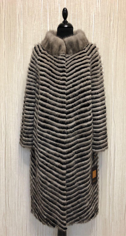 Fur coat ' SILVER', Coats, Moscow,  Фото №1