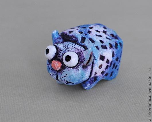 фигурка кота  купить фигурку кота  статуэтка кота  кот сувенир  серый кот  синий кот  пятнистый кот  купить фигурку  кот из глины  кот из керамики  керамические сувениры