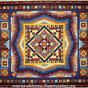 Blankets handmade. Livemaster - original item Patchwork blanket