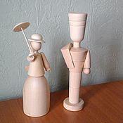 Куколки из липы( деревянные заготовки)