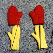 Материалы для творчества ручной работы. Ярмарка Мастеров - ручная работа Колодочки для сувенирных варежек. Handmade.