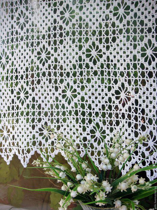 занавеска для кухни или дачи занавеска крючком кружевная занавеска текстиль для дома заказать занавеску прованс кантри белый кремовый красивая звнавеска