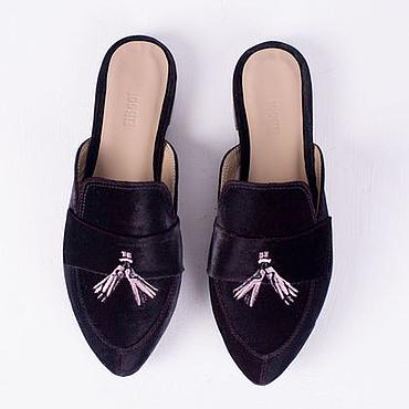 Обувь ручной работы. Ярмарка Мастеров - ручная работа Мюли Allegory. Handmade.
