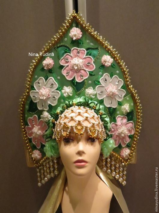 Одежда ручной работы. Ярмарка Мастеров - ручная работа. Купить Корона цветочная.. Handmade. Зеленый, цветочный, интерактивная программа, лето