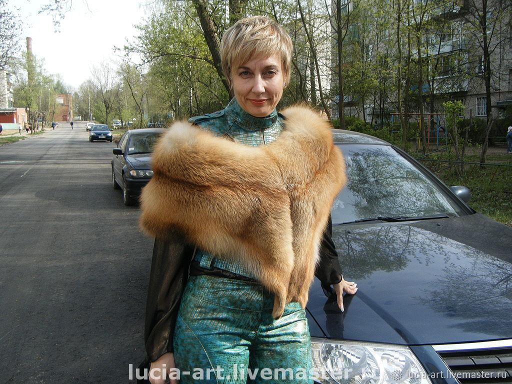 Fox boa collar, Boa, Moscow,  Фото №1