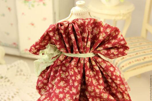 Куклы и игрушки ручной работы. Ярмарка Мастеров - ручная работа. Купить Ткань хлопок №146 с мелким рисунком. Handmade. Комбинированный