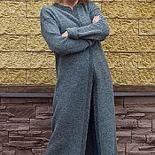Одежда handmade. Livemaster - original item The Cool evening cardigan Royal Alpaca. Handmade.